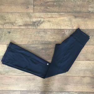Lululemon Navy Karma Yoga Pant Sz 6